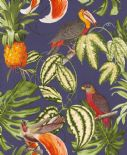 Paradisio Tropical Wallpaper 6302-08 By Erismann Wallcoverings